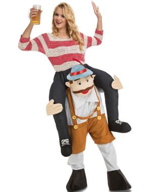 Kostým jezdec na tyrolákovi na Oktoberfestu