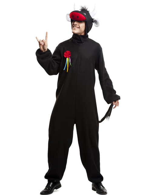 Disfraz de toro condecorado para adulto
