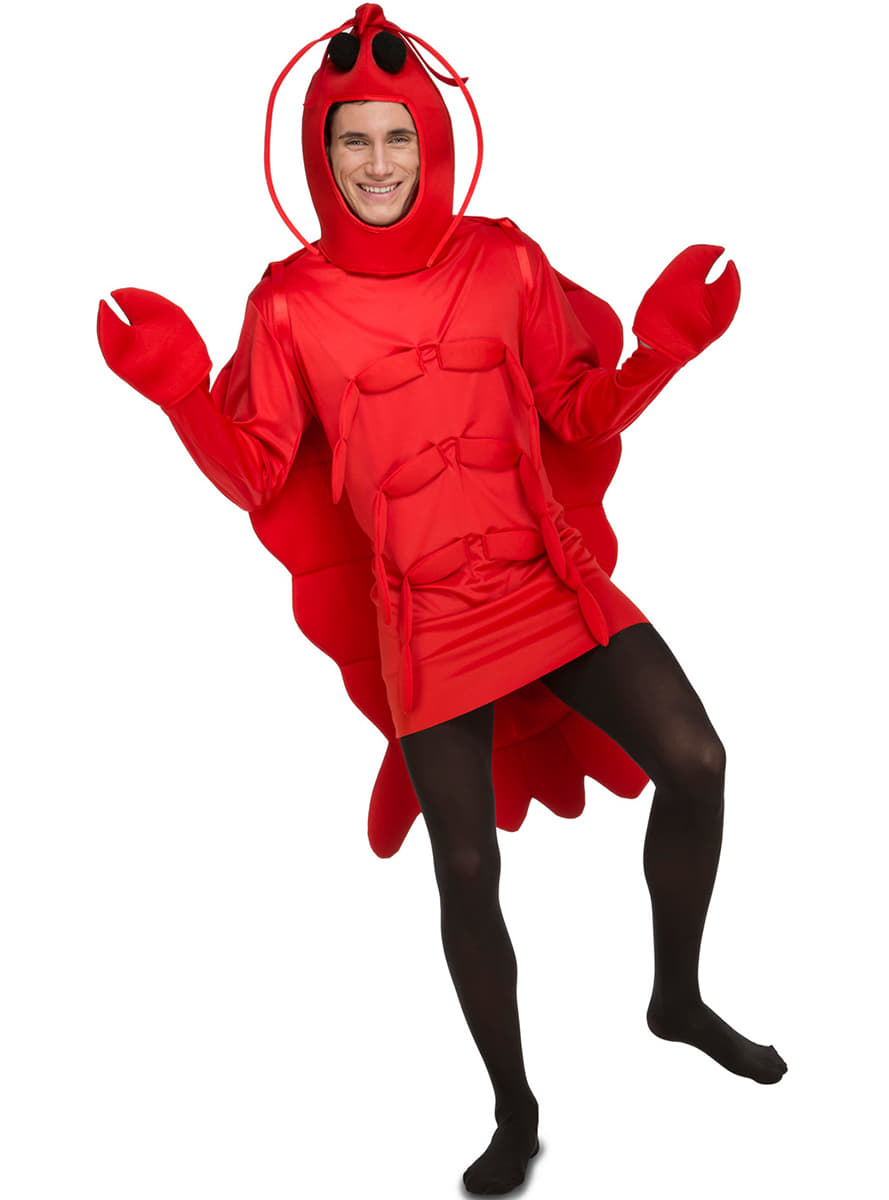 Adults Lobster Costume. Fast delivery | Funidelia
