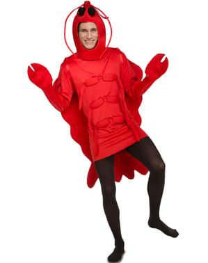 Kostium elegancki homar dla dorosłych