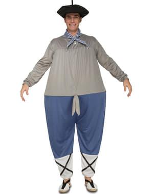 Disfraz de pastor gordinflón para adulto