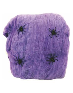 Spinnweben lila 80g