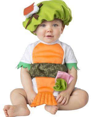 Strój sushi dla niemowląt