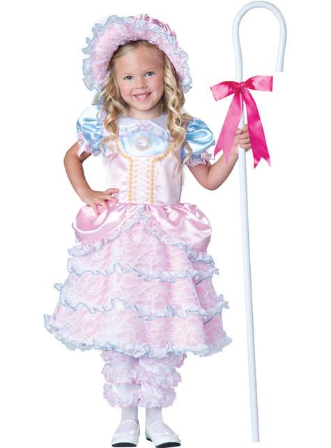 Fato de pastora elegante para menina