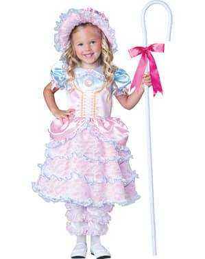 Елегантният костюм на момичето Sheperdess