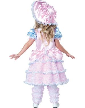 Costum de păstoriță elegant pentru fată