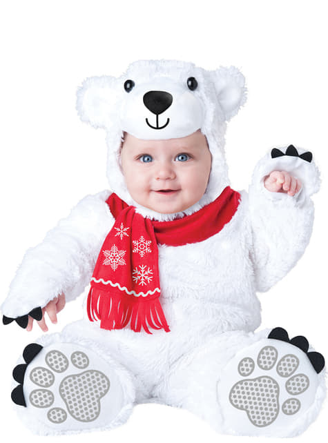 Baby's Adorable Polar Bear Costume