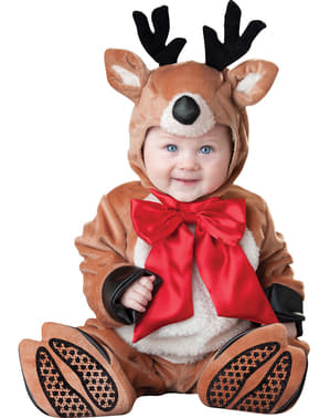 Costume da renna natalizia per neonato