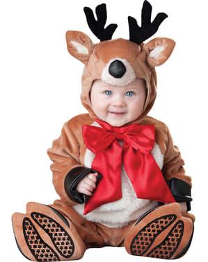 Weihnachtsrentier Kostüm für Babys
