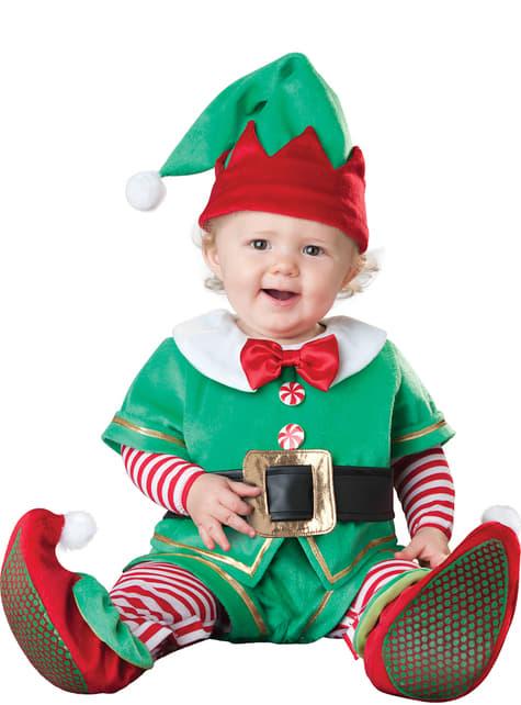 Disfraz de elfo irresistible para bebé