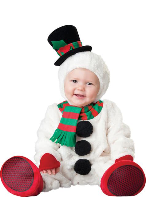 Baby's Adorable Snow man Costume