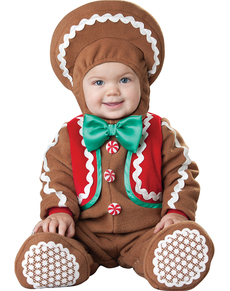 Babyu0027s Gingerbread cookie Costume  sc 1 st  Funidelia : toddler shrek costume  - Germanpascual.Com