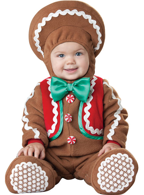 Baby's Gingerbread cookie Costume