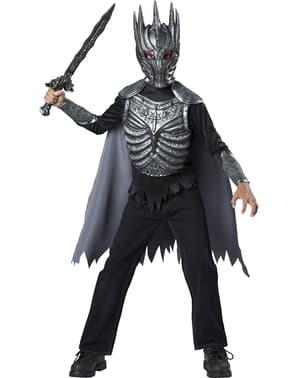 Costum de cavaler tenebros pentru băiat
