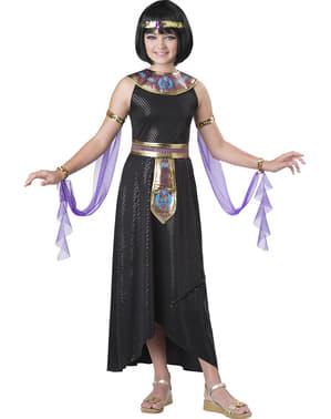 Disfraz de Cleopatra cautivadora para niña
