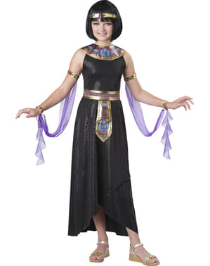 Girl's Captivating Cleopatra Costume