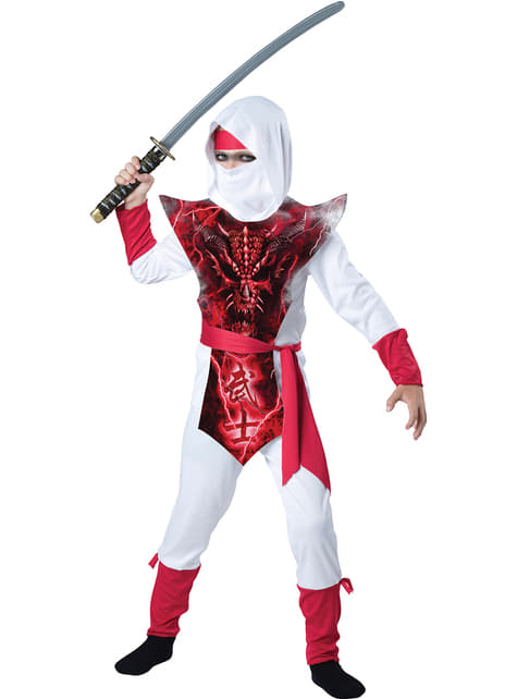 Spooky Ninja Costume for Kids