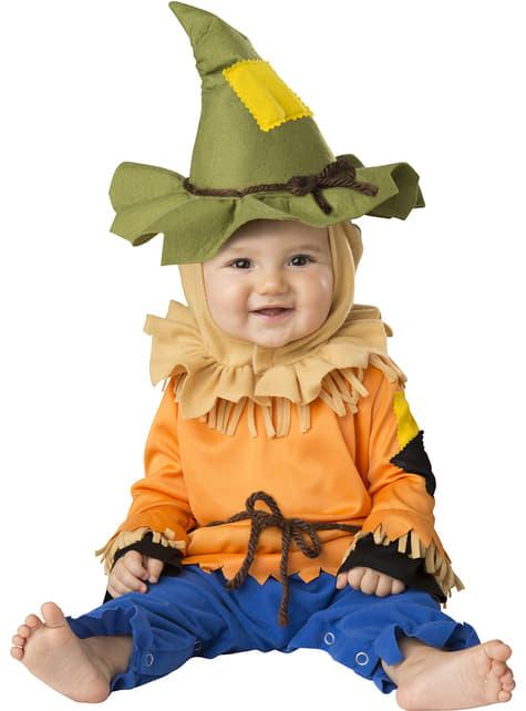 Disfraz de espantapájaros cautivador para bebé