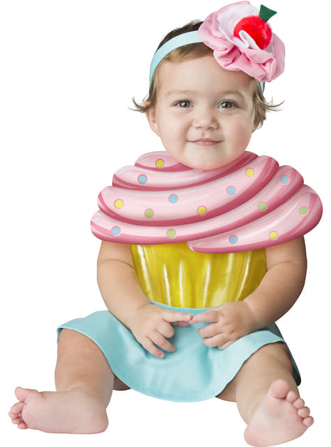 Disfraz de cupcake irresistible para bebé