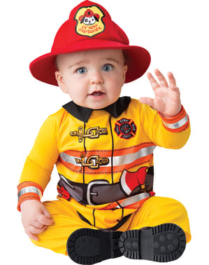 Brave Firefighter Costume for Babies
