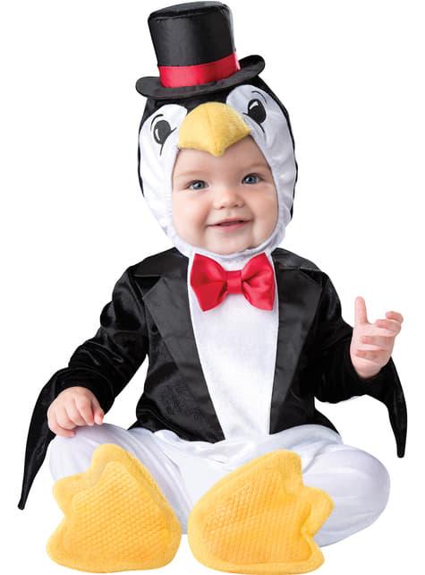 Disfraz de pingüino elegante para bebé