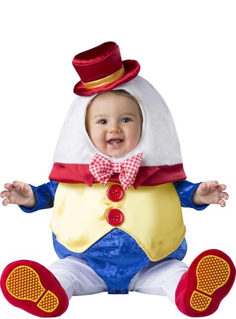 Disfraz de Humpty Dumpty para bebé