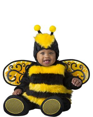 Fato de abelha adorável para bebé