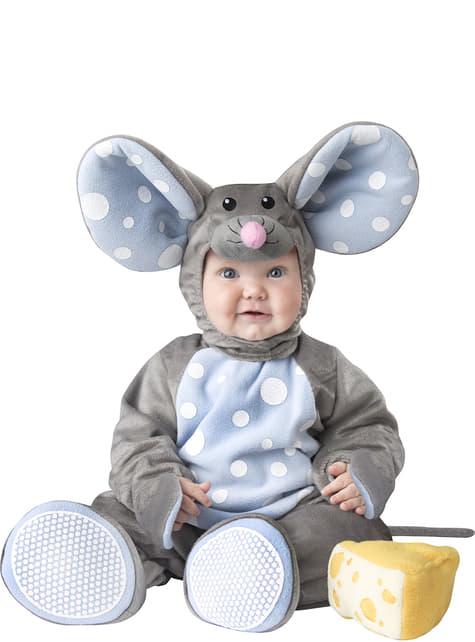Fato de rato amoroso para bebé