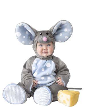 赤ちゃんの愛らしいマウスコスチューム