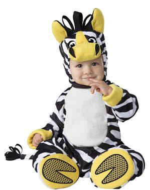 Costum de zebră din savană pentru bebeluși