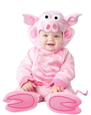 Déguisement cochon affectueux bébé