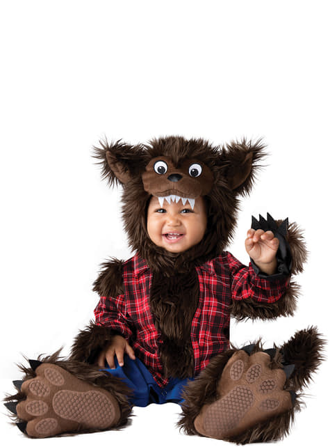 Baby's furry Wolf Costume