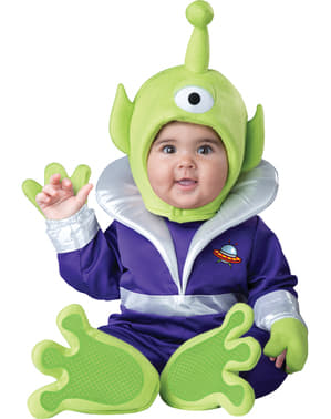 Baby's Martian Galaxy Costume
