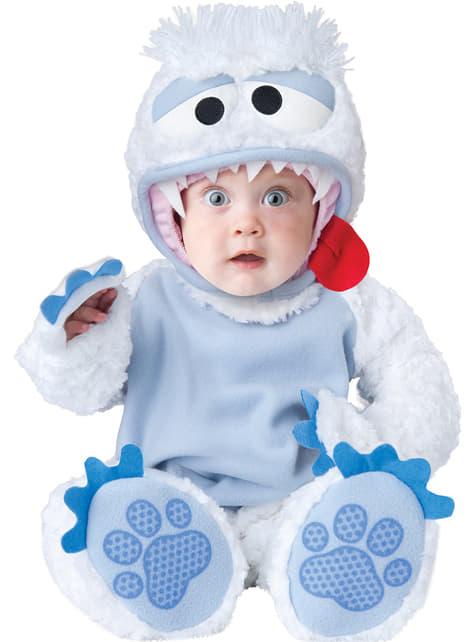 Baby's Yeti Costume