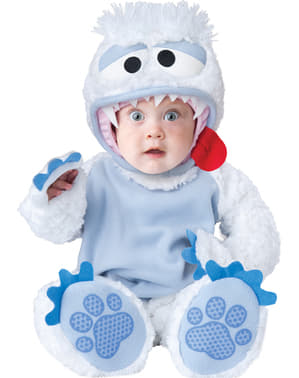 Costum Yeti pentru bebeluși