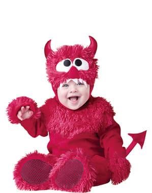 Maskeraddräkt mjukisdemon för bebis