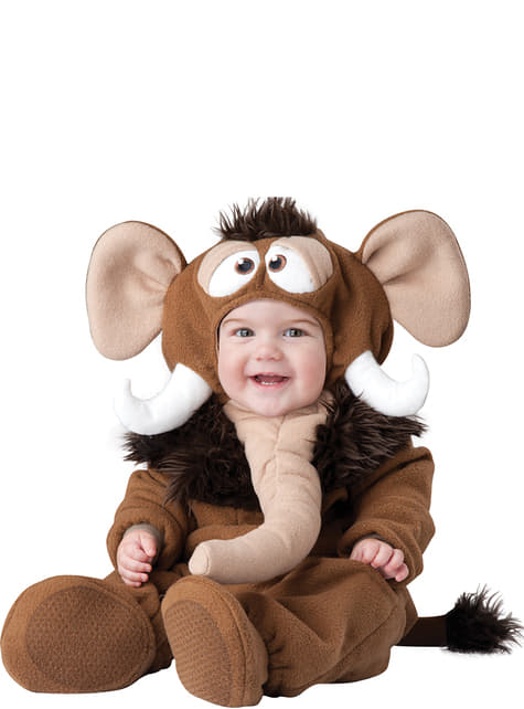 Disfraz de Mamut del deshielo para bebé