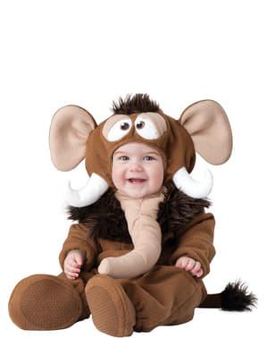 Strój mamut z epoki lodowcowej dla niemowląt