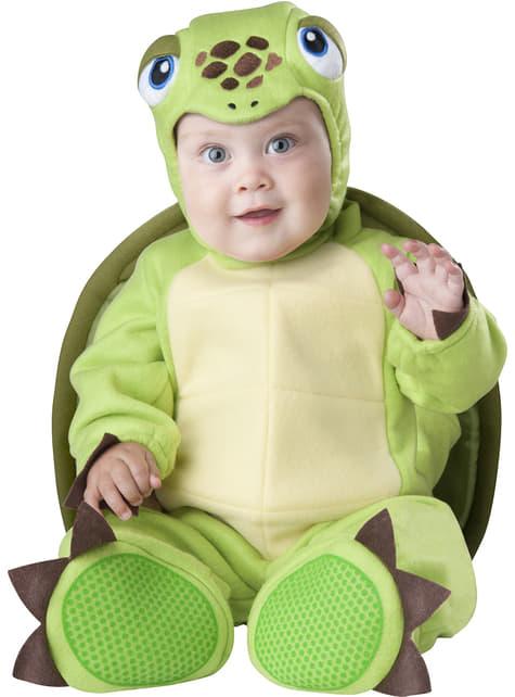 Disfraz de tortuga perezosa para bebé