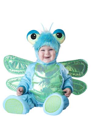 Fato de borboleta azul para bebé