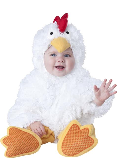 Kip kostuum voor baby