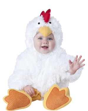 Fato de galinha para bebé