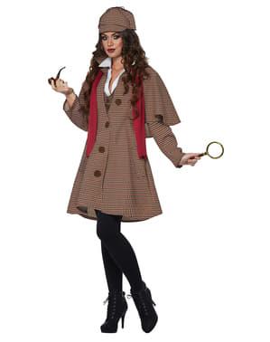 Costume da detective inglese per donna