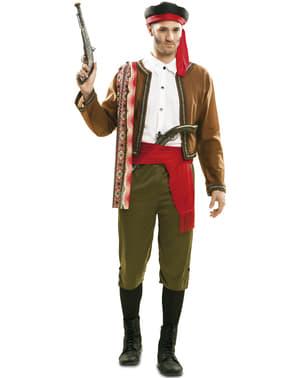 Gammeldags Smugler Kostyme for Menn