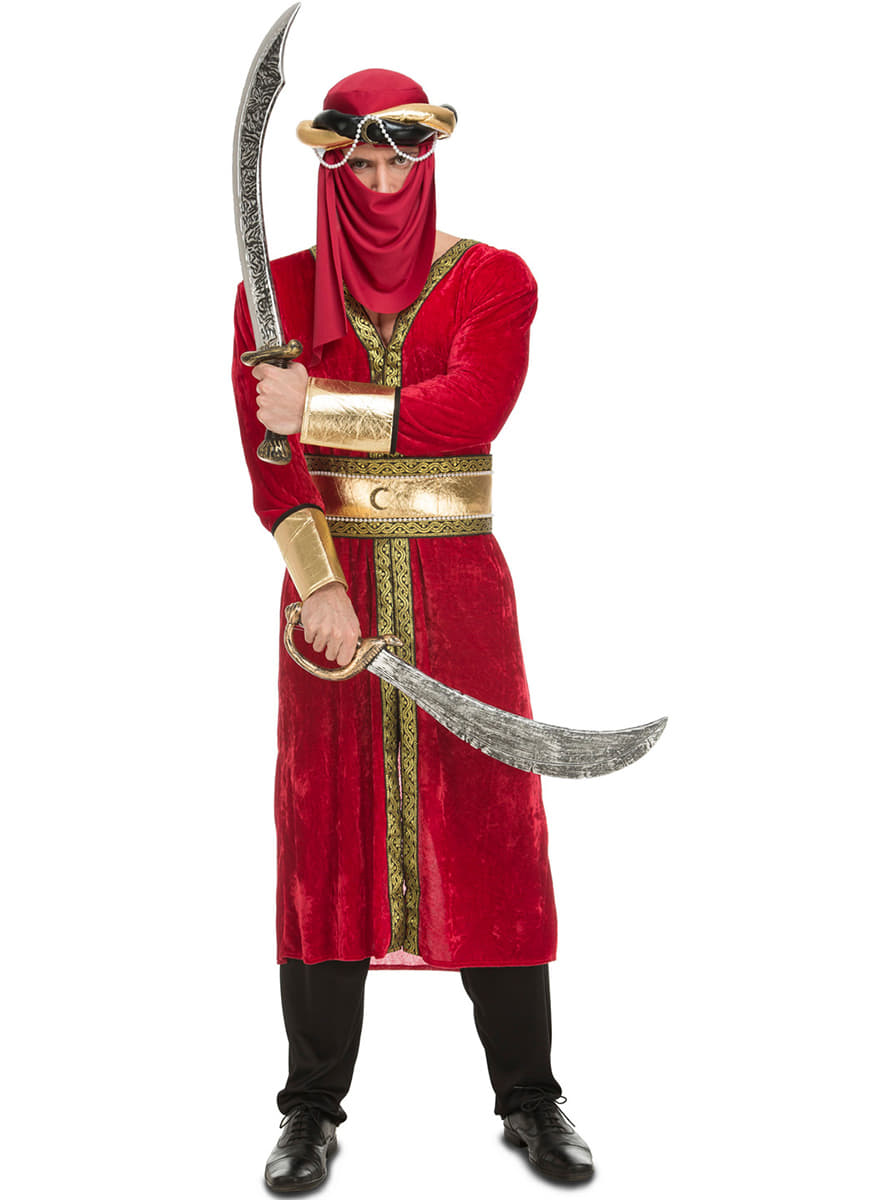 Mens Saracen Arabic Costume Fast Delivery Funidelia