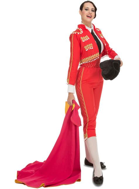 Stierenvechter kostuum elegnat voor vrouw