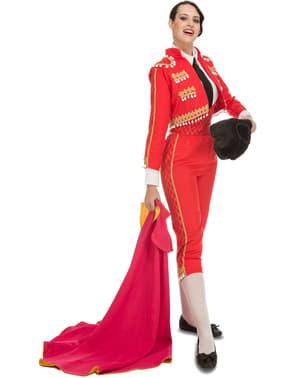 Elegantes Stierkämpferin Kostüm für Damen