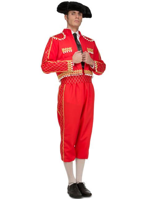 Disfraz de torero elegante para hombre
