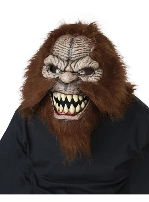 Máscara de Bigfoot ani-motion para adulto