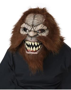 Masker ani-gerak Bigfoot untuk orang dewasa